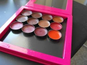 Customised Lipstick Palette