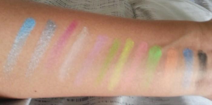 Sleek iDivine Palette Swatches in Acid