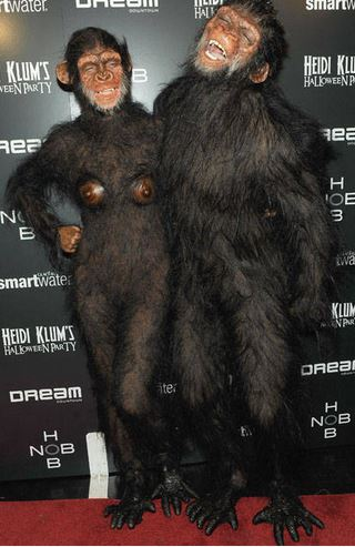 Heidi Klum and Seal - Planet of the Apes