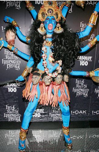 Heidi Klum - Goddess Kali
