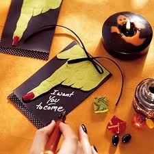 Spooky invites