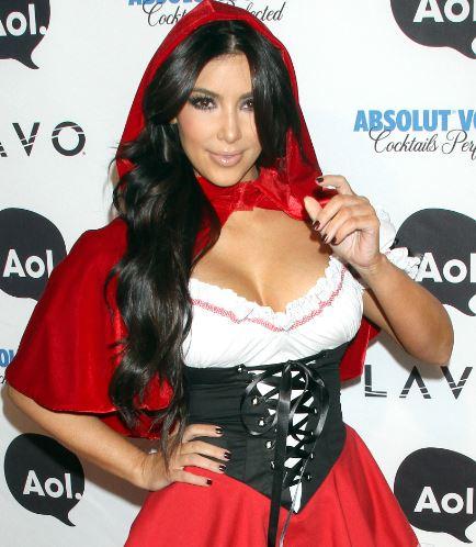 Kim K - Red Riding Hood