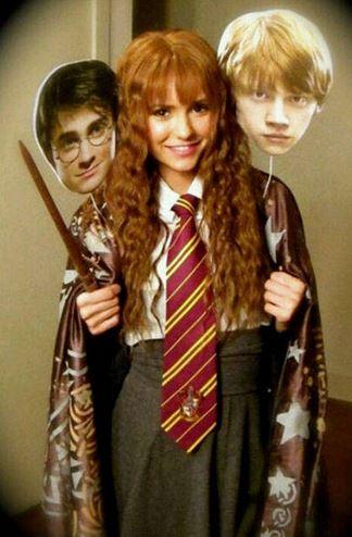 Nina Dobrev - hermione granger harry potter
