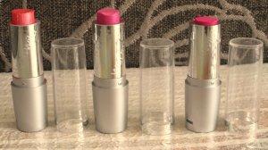 Wet and Wild Lipsticks