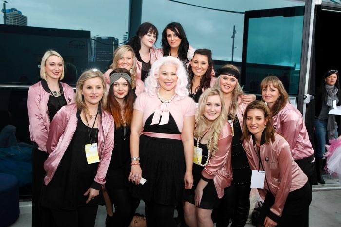 Phoenix and the Pink ladies